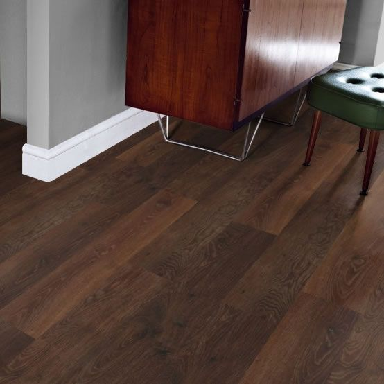 Karndean Knight Tile Aged Oak  Basement Floor  Karndean