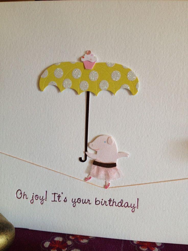 Papyrusbirthdaycards birthdays cricut pinterest card pig birthday card by papyrus bookmarktalkfo Images