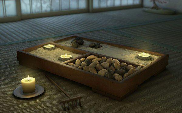 Le mini jardin zen est une source unique d'inspiration et de réconfort. En plus c'est une façon amusante de décorer vos espaces d'une façon originale.