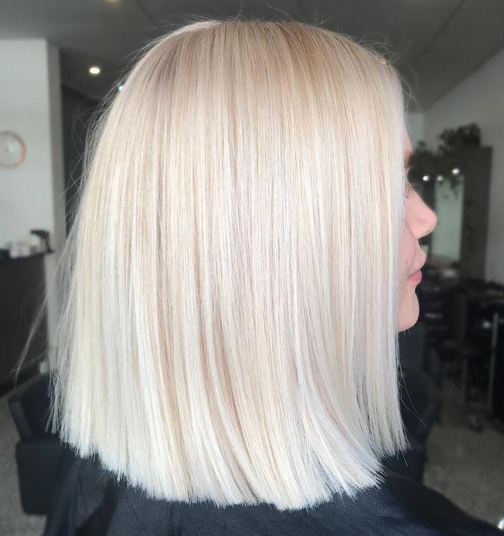 "Photo of Kaitlin Jade Hair Artistry on Instagram: ""Fresh blonde goals 😍 @hairandharlow #hairandharlowblondes #hairbykaitlinjade #behindthechair"""