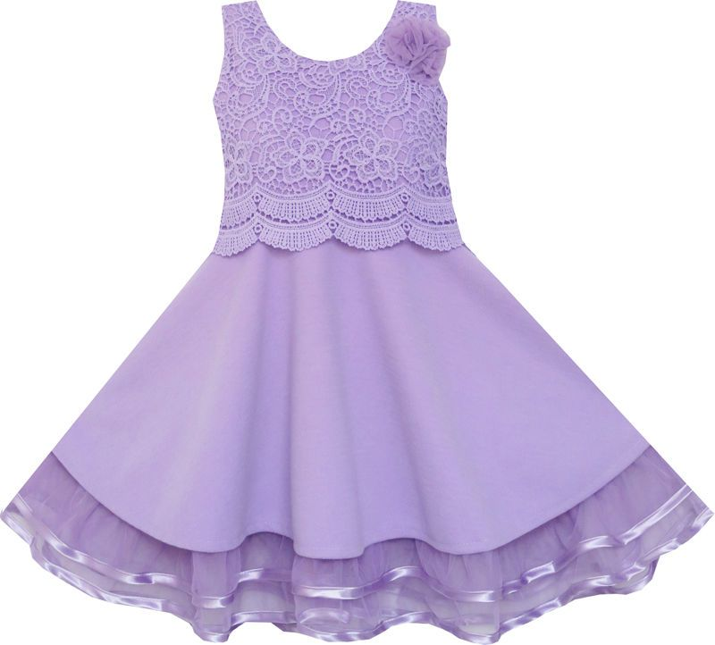 Kleid lila 134