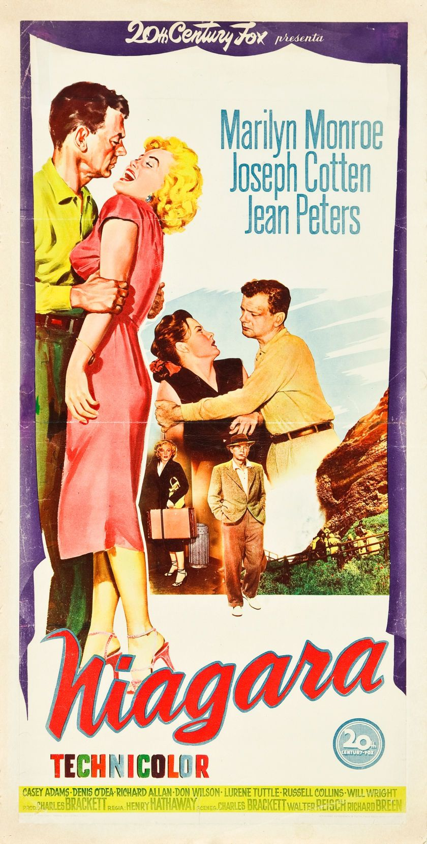 Niagara   Italian Movie Poster, 1953 This site is all about