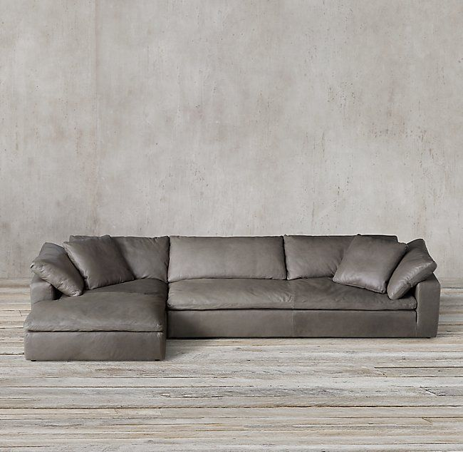 cloud track arm leather two seat cushion sofa half moon table metal customizable sectional sofas and