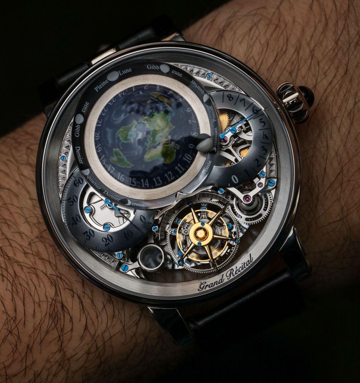 5abe68b63d4 Bovet Récital 22 Grand Récital Watch Hands-On  bovet  bovetrecital  watches  Relógios
