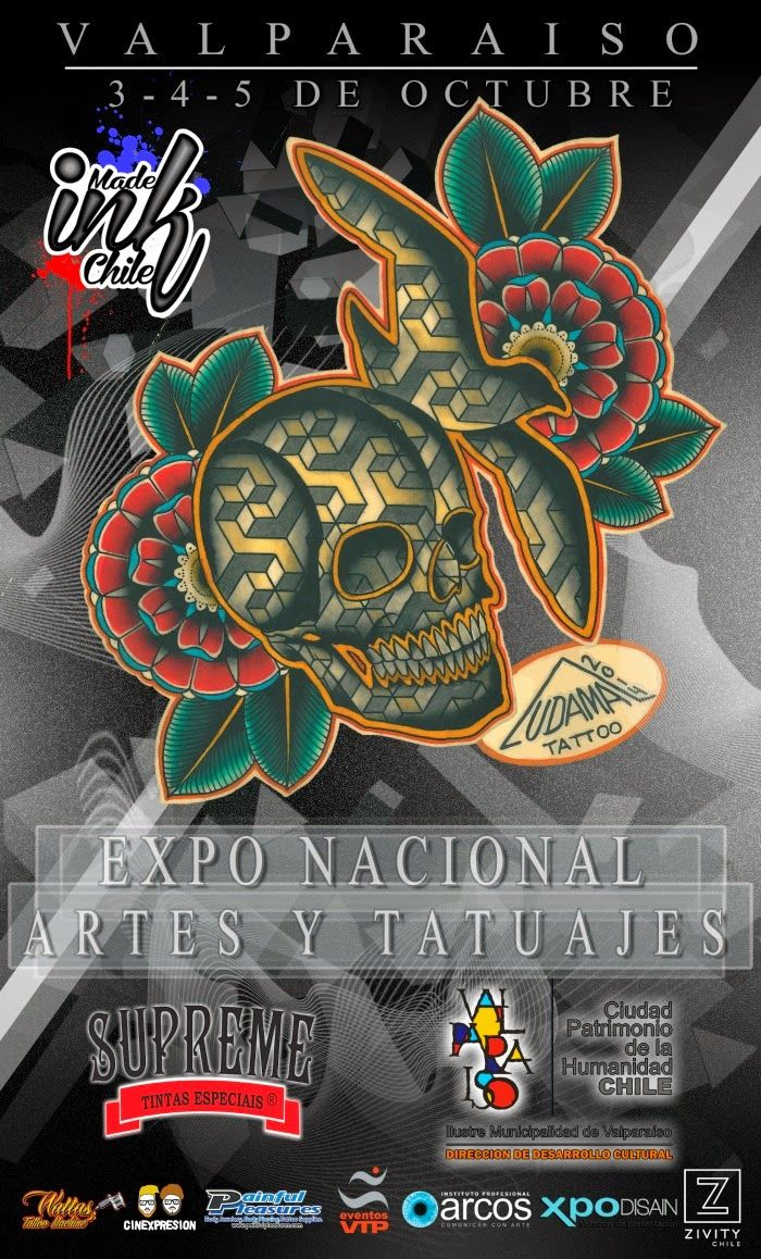 Tattoo & Ink: Expo de Artes y Tatuajes – Chile 2014