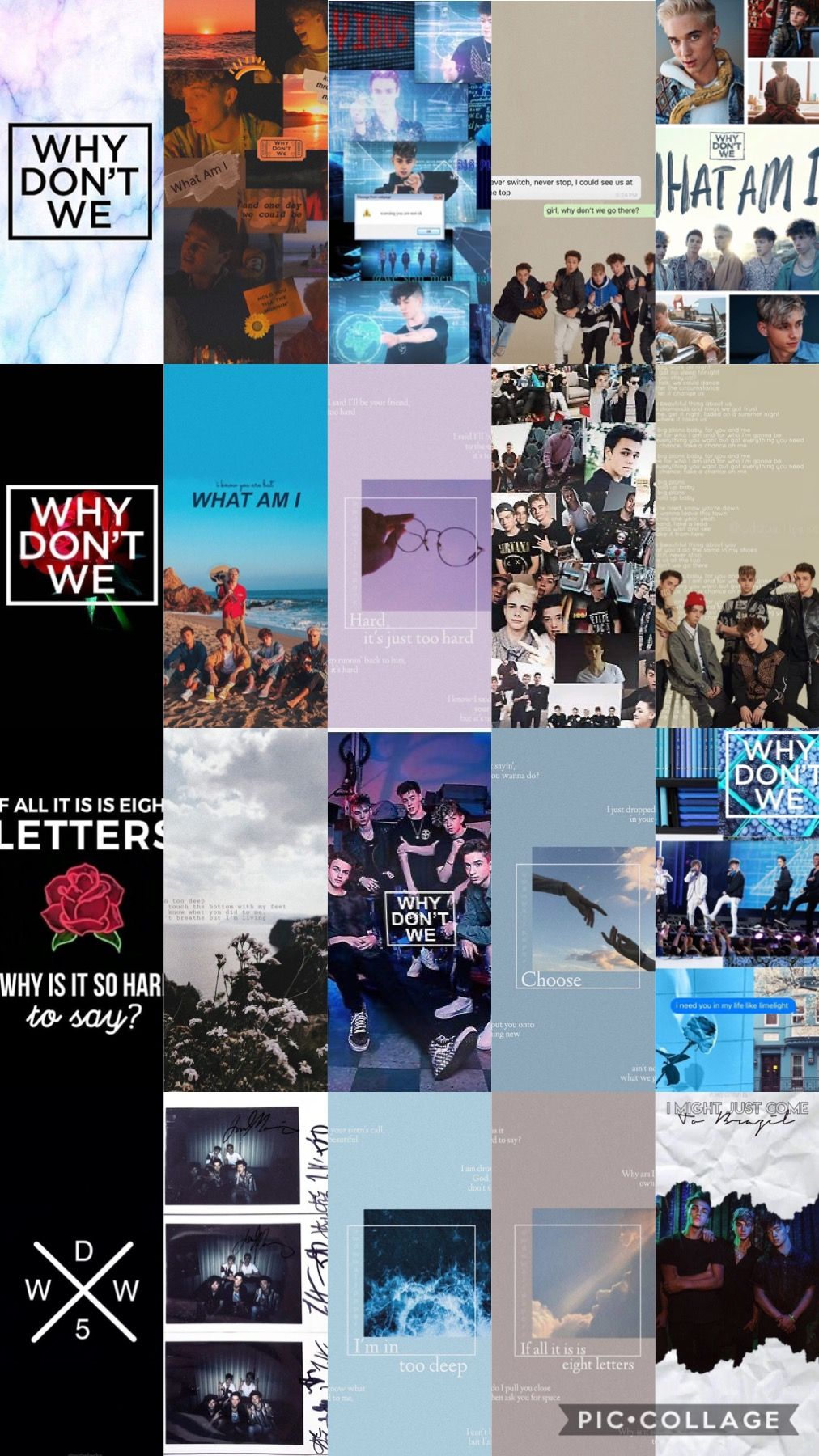 Why Don T We Band Wallpapers Why Dont We Imagines Phone Wallpaper For Men