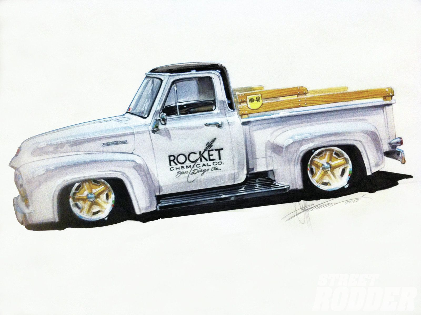1956 chevy tattoo submited images pic2fly - Hot Rod Drawings Bing Images Renderings Pinterest Cars Ford And Ford Trucks