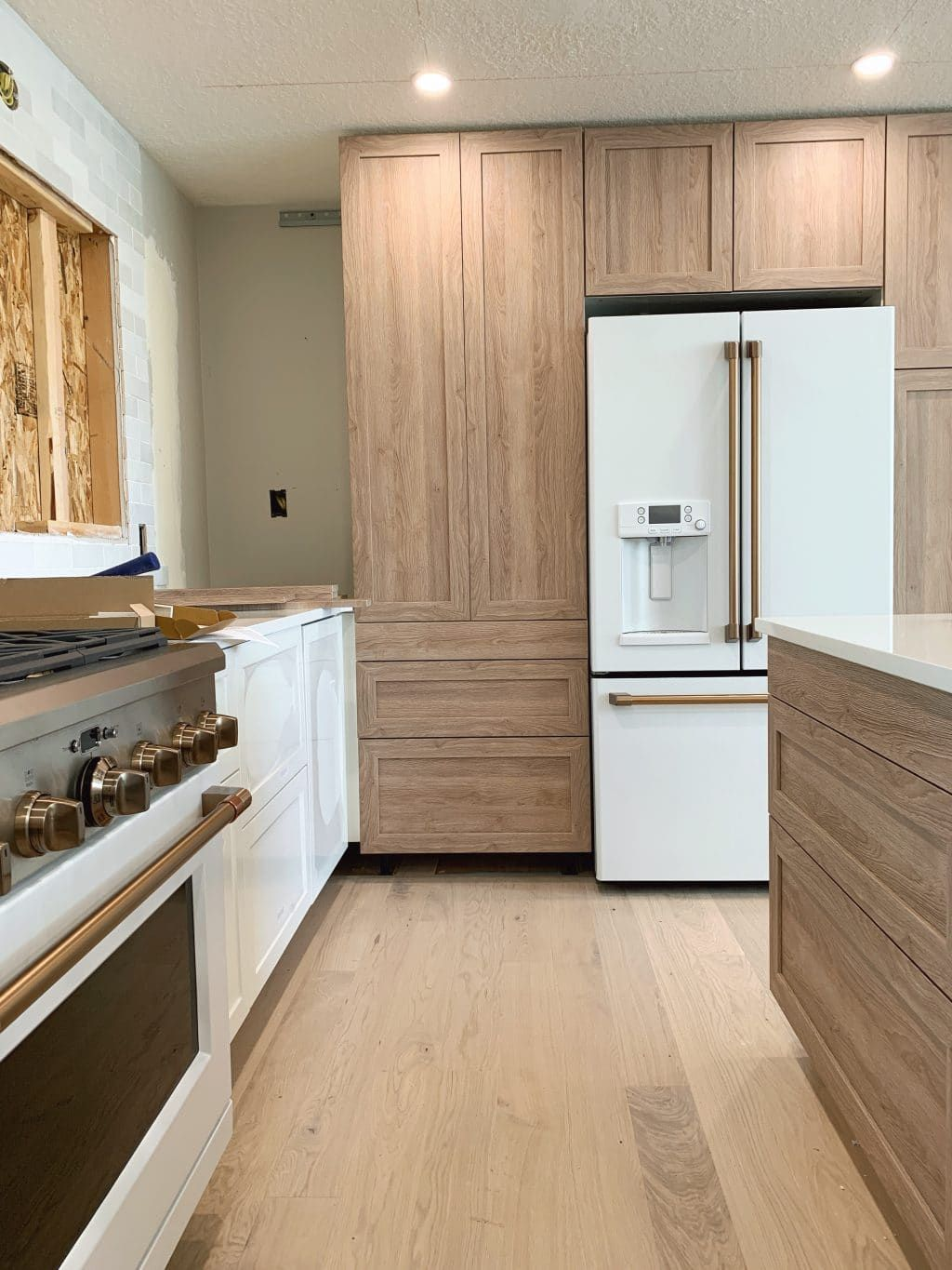 Everything You Need To Know About Using Semihandmade Fronts With Ikea Cabinets And Our Cove Line In The Fullmer Kitchen Kitchen Cabinets Fronts Ikea Kitchen Cabinets Ikea Kitchen