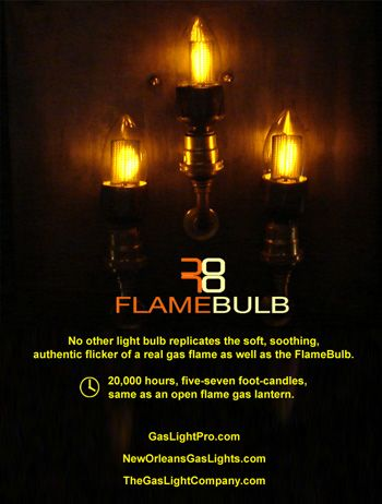 Gas Light Pro French Quarter Lanterns Gas Lights Light Bulb Candle Bulb