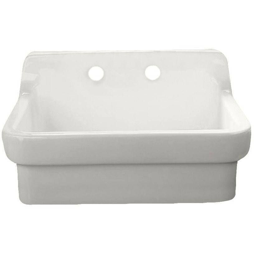 American Standard 30 Vitreous China Wall Mount Country Kitchen Or