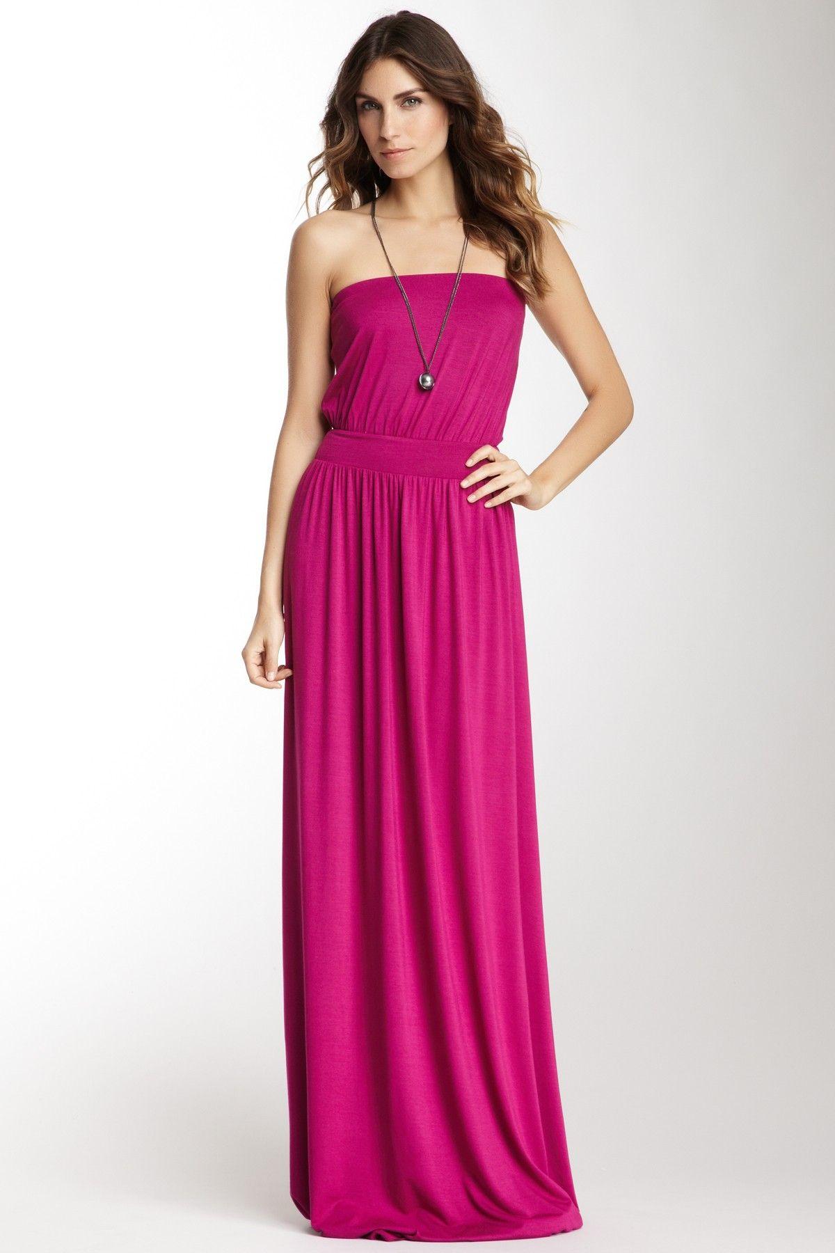 strapeless maxi dress <3 maxi dress #anna7891 #style for women ...