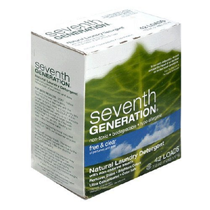Scores An A Seventh Generation Natural Laundry Detergent