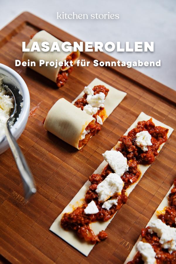 Photo of Überbackene Lasagnerollen mit Hackfleisch
