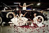 Wedding at a Classic Car Museum?  Of course!  It just makes sense.  www.astorcla…