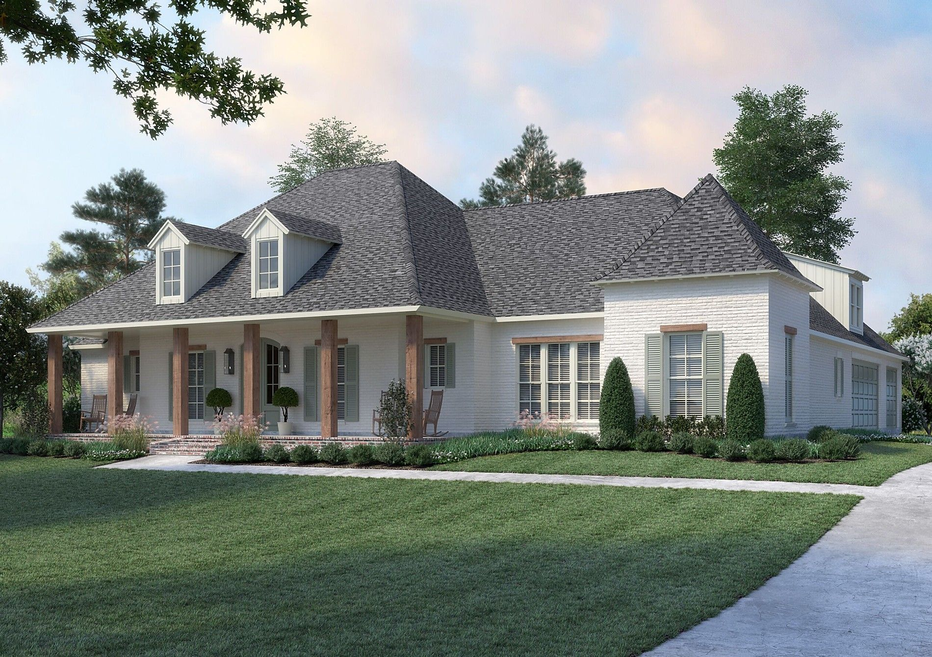 The Baton Rouge Madden Home Design Louisiana Style In 2020 Madden Home Design Acadian House Plans Acadian Style Homes