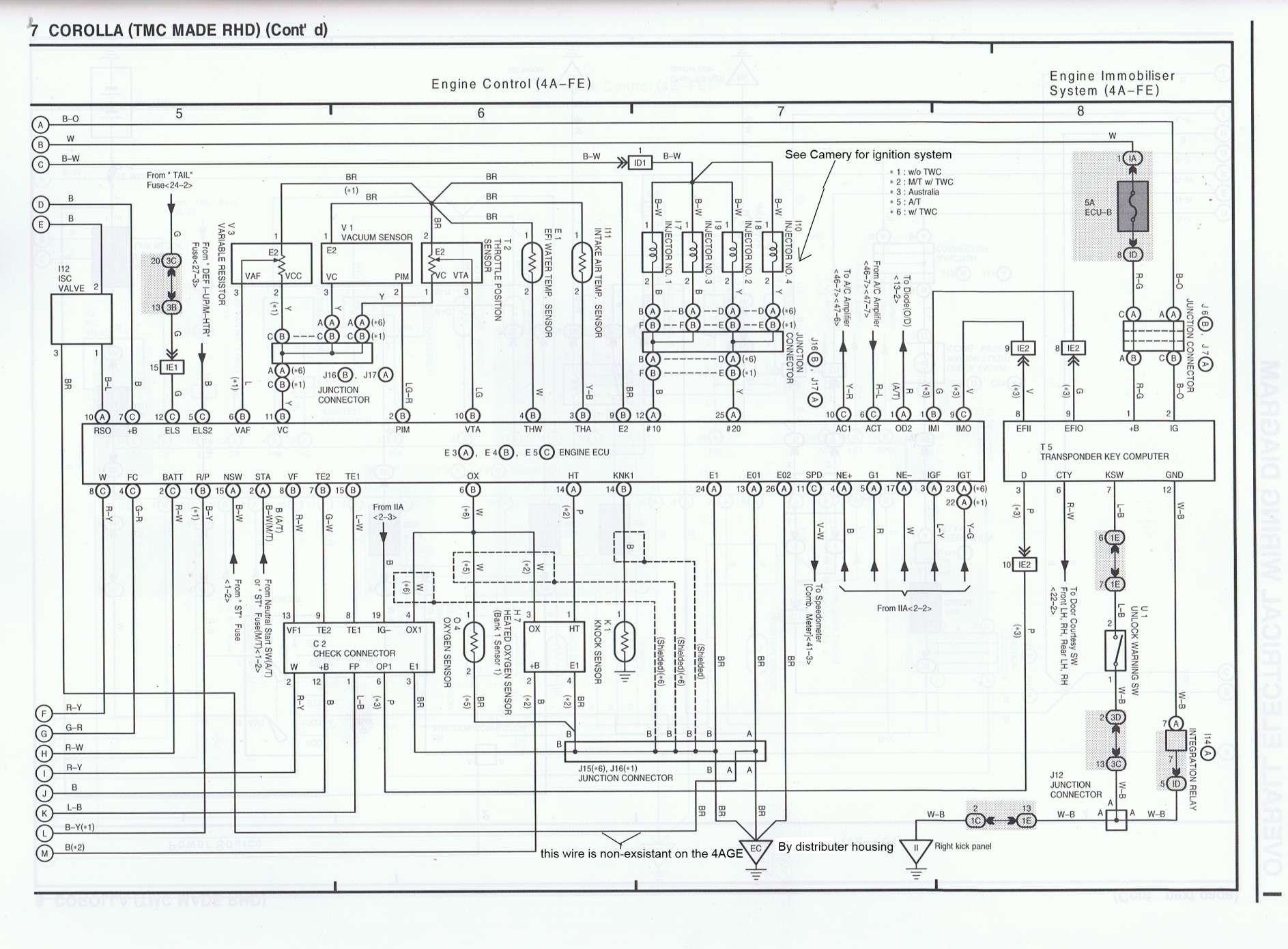18 Toyota 4age Engine Wiring Diagram Engine Diagram Wiringg Net Diagram Electrical Wiring Diagram Engineering