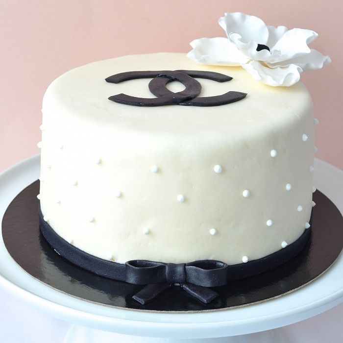 Geneva homemade birthday cake Chanel cake No 2 | Petra Cakes ...