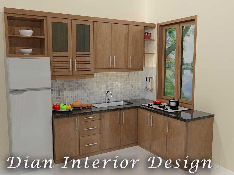 Design Kitchen Set Minimalis Modern Homyracks