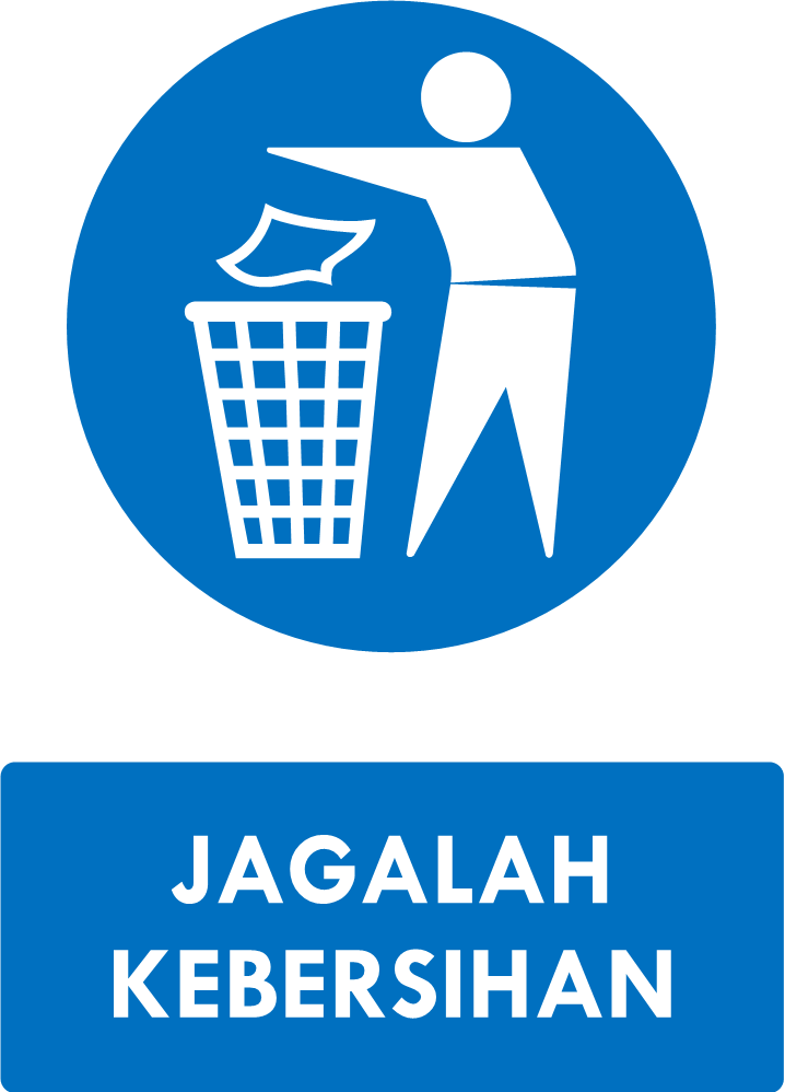 Poster Jagalah Kebersihan : poster, jagalah, kebersihan, Rambu, Jagalah, Kebersihan, Pembersihan,, Papan,, Bingkai