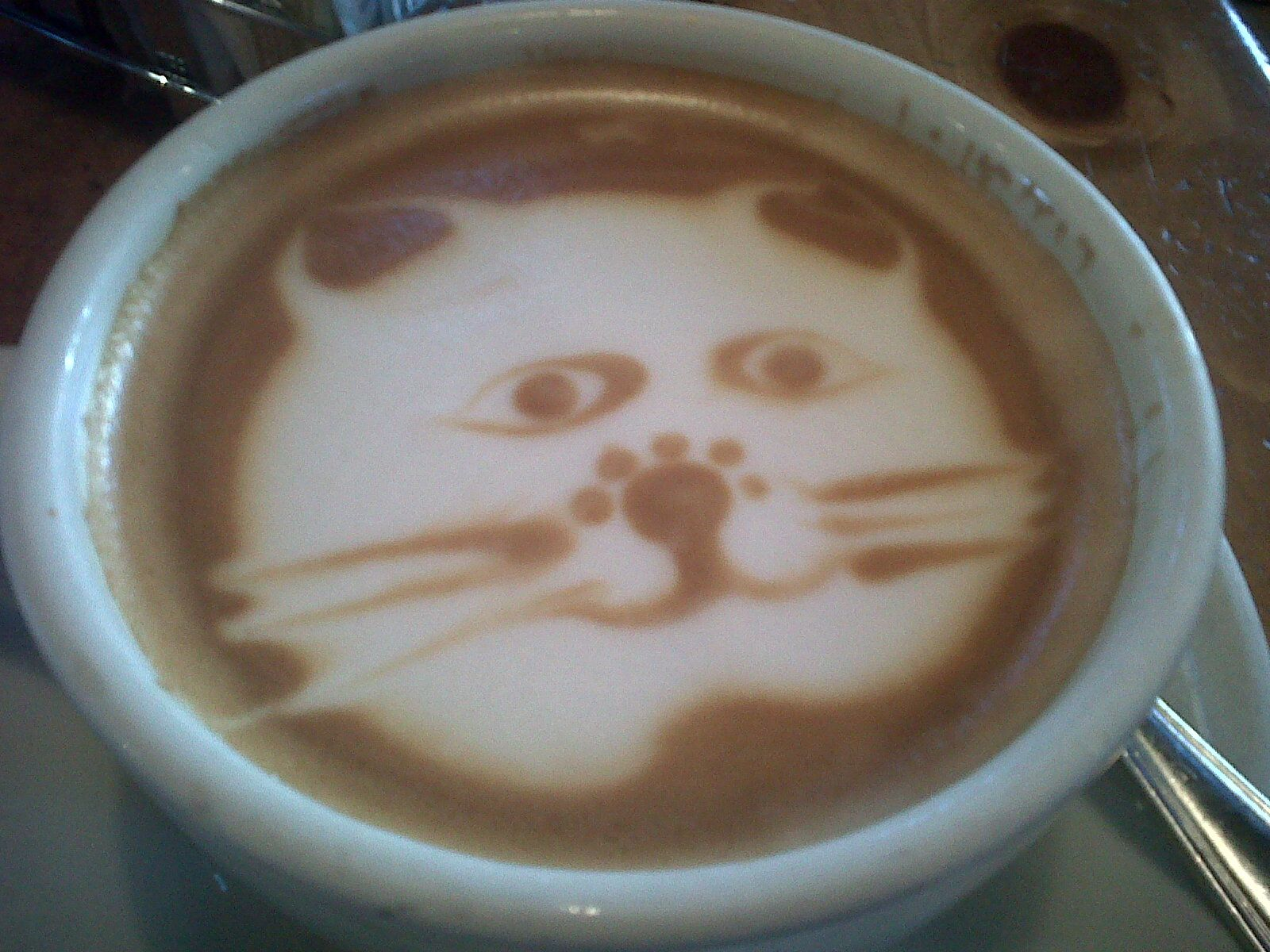Coral Tree Cafe Makes Me Smile Even Before My First Sip Of Coffee Coffee Shop Photography Latte Art Latte