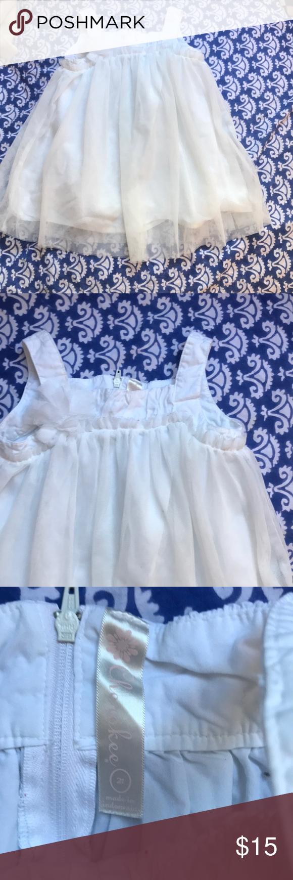 Very Pretty White Dress Sz 2t Pretty White Dresses Dresses Casual Dresses [ 1740 x 580 Pixel ]