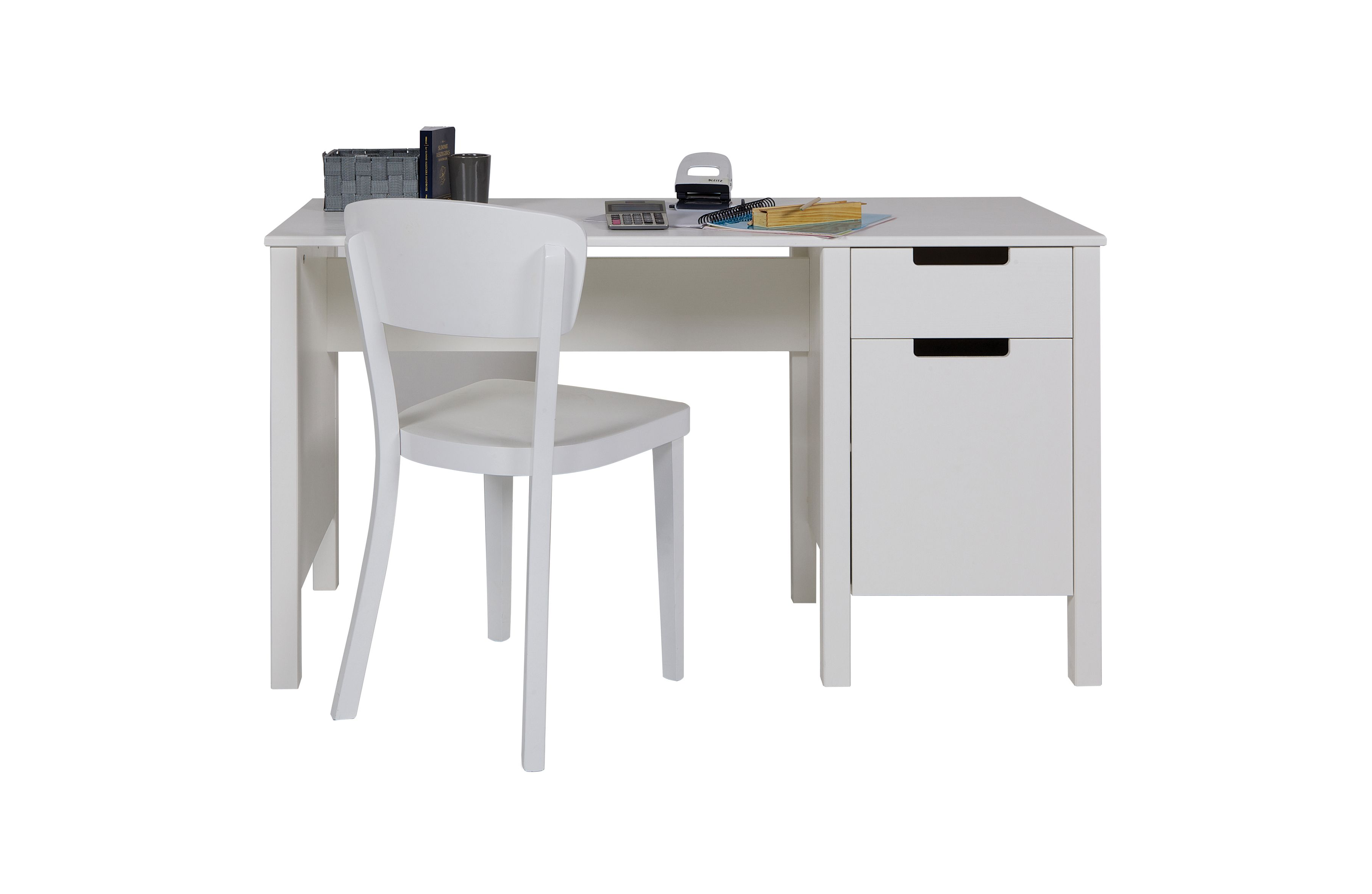Bureau pin blanc champagneconlinoise