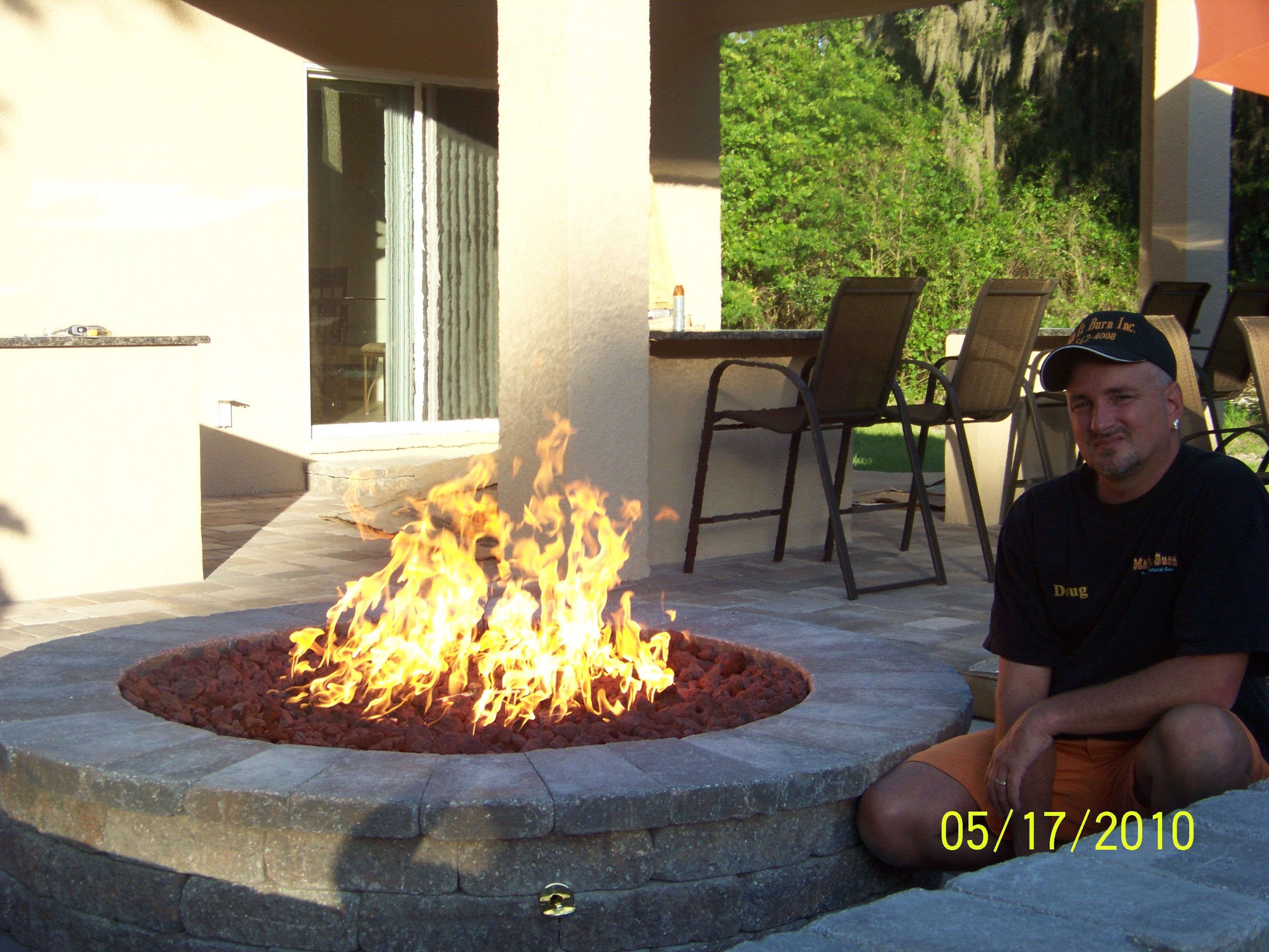 Gas Firepit | Outdoor Gas Fire Effects