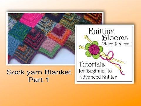 Stricken 10 Stitch Blanket Elizzza Teil 1 10 Maschen Decke