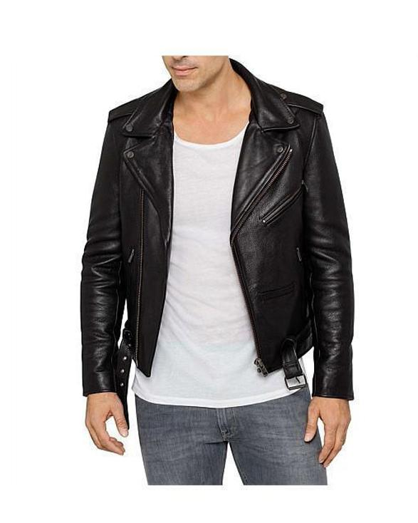 Classic Perfecto Pure Leather jacket for Men Leather