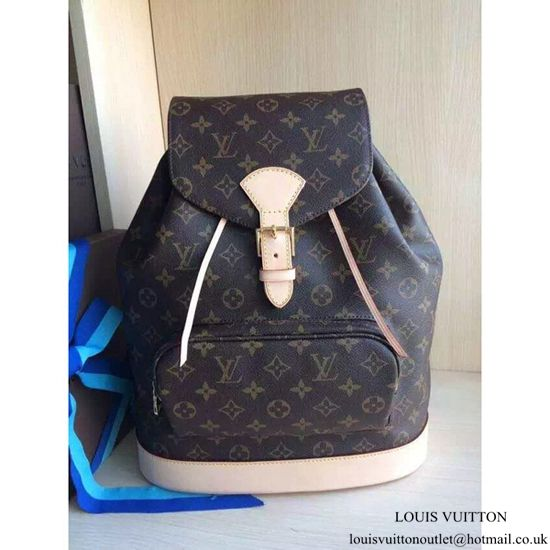 0cba933060e1 Louis Vuitton M51135 Montsouris GM Backpack Monogram Canvas ...