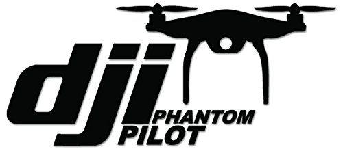 Dji Pilot Drone Vinyl Decal Sticker For Vehicle Car Truck