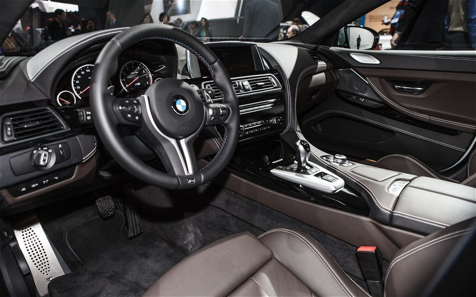 2014-BMW-M6-Gran-Coupe-cockpit #bmwcockpit #2014bmw #bmwinterior