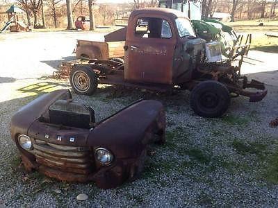 Ford Pickups F1 1949 FORD F 1 Pickup RECENT BARN FIND MISSOURI