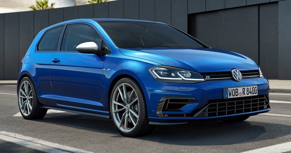 Facelifted 2017 VW Golf R Gets 310PS New 10 TSI And 4MOTION TDI Join The