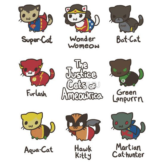 The Justice Cats of Ameowrica