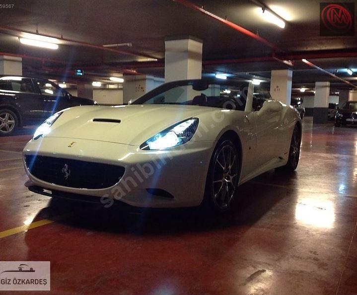 2013 Fermas Turkiyede Tek Ferrari California 30 490 Ps Ferrari California Ferrari California
