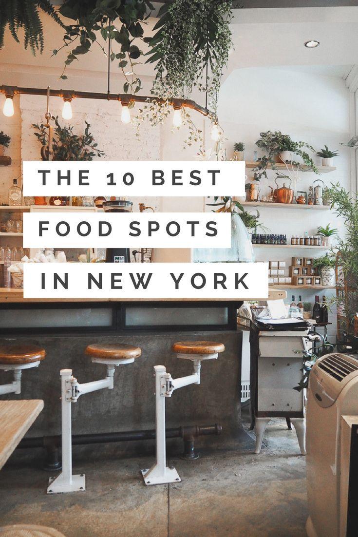 Die 10 besten Food-Spots in New York | Teil II | Alexandra Winzer