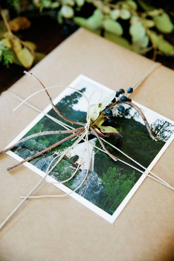 Use a personal image (thanks Instagram) in place of gift tags for a sweet touch to your presents