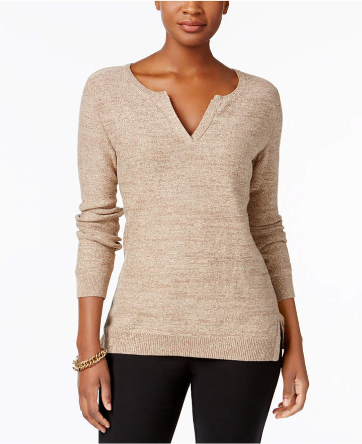 Petite cotton sweater — pic 15