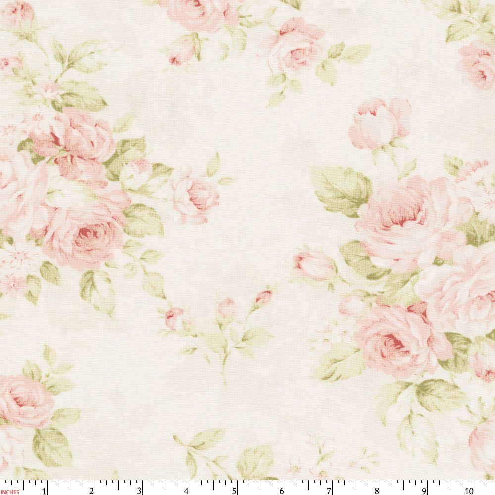 Pink Floral Fabric By The Yard A Few Of My Favorite Things