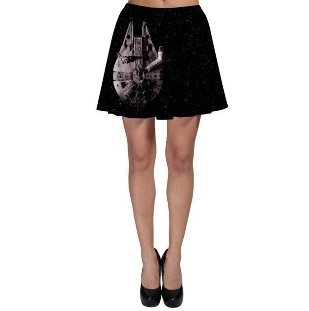 Star Wars Millennium Falcon Inspired Skater Skirt