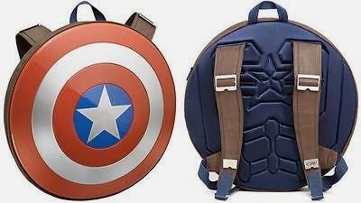 Captain America Shield Backpack        Check this out>>>>>>>   http://bit.ly/2b7N2Ow
