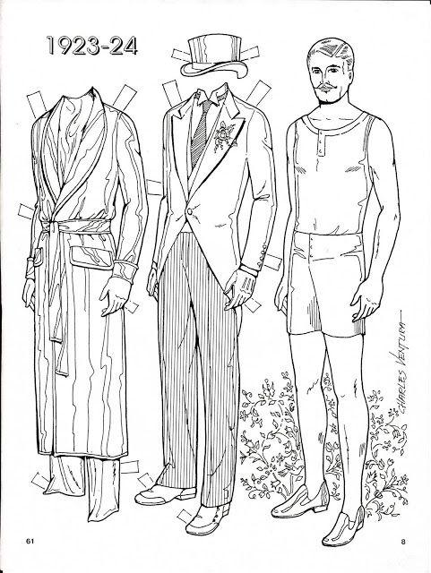 Three Brides 1923-24 Paper Dolls by Charles Ventura - 8 of 8
