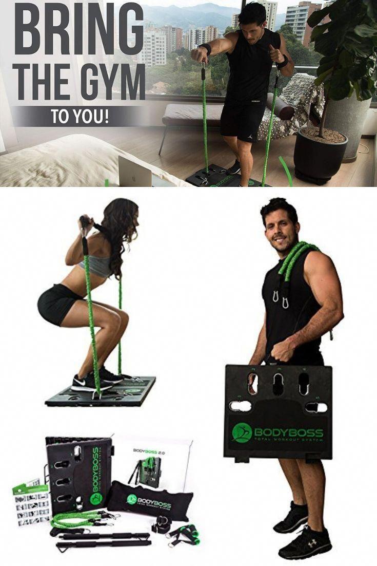 BodyBoss Home Gym 2.0 Full Portable Gym Home Workout