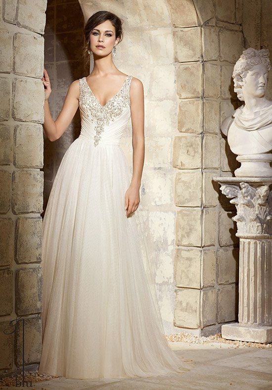 Hochzeitskleid Tüll