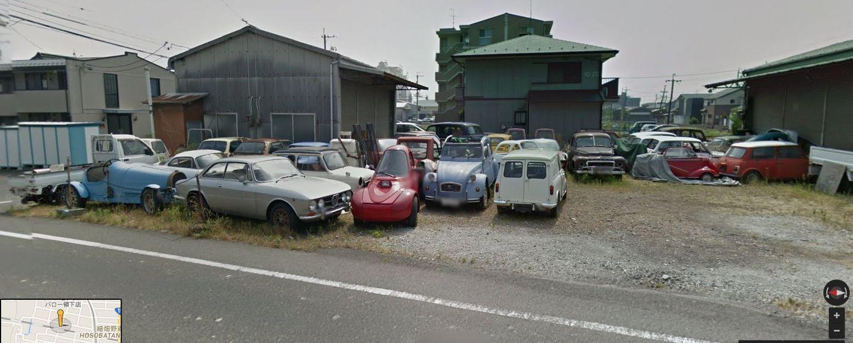 Abandoned European car dealership in Japan [1440x580 ...