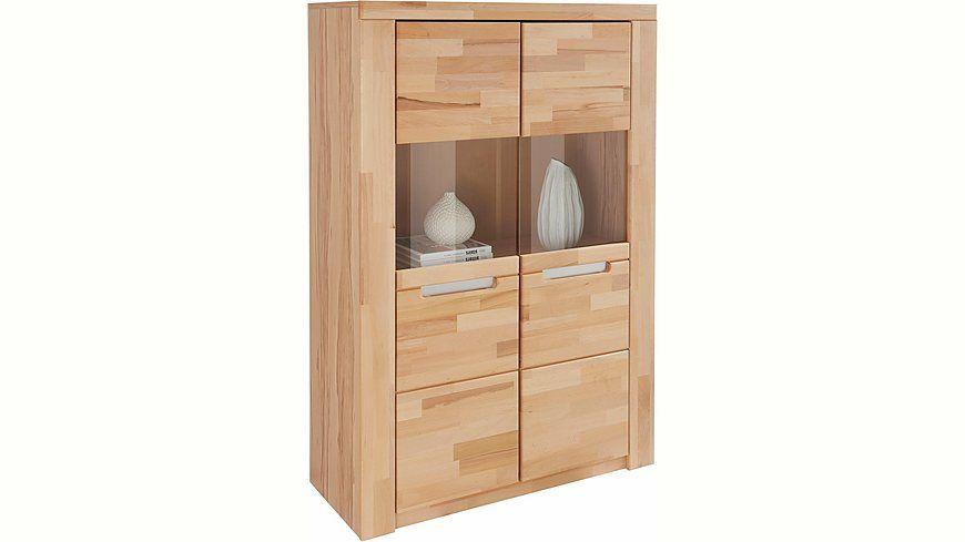 Wohnzimmer Glastür ~ Highboard »kolding« breite 100 cm mit 2 glastüren jetzt bestellen