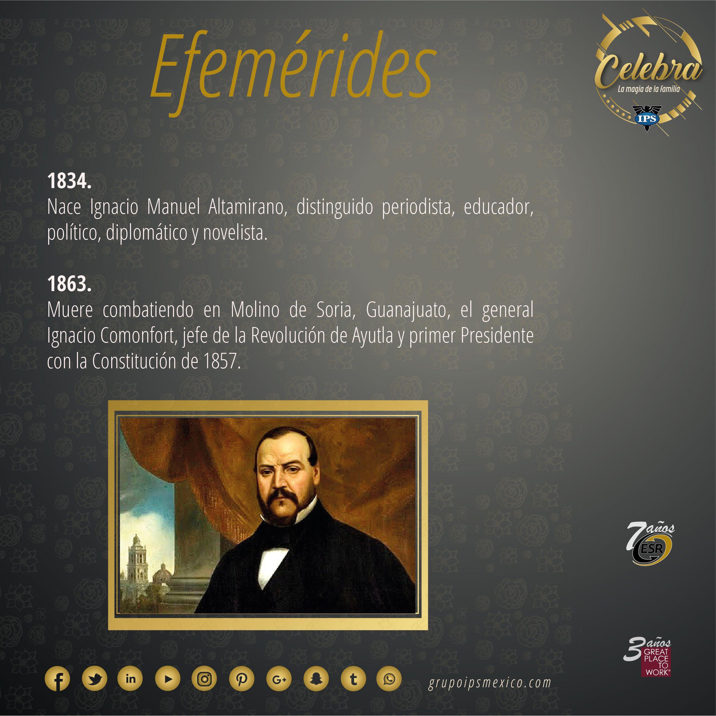 Pin en Efemérides