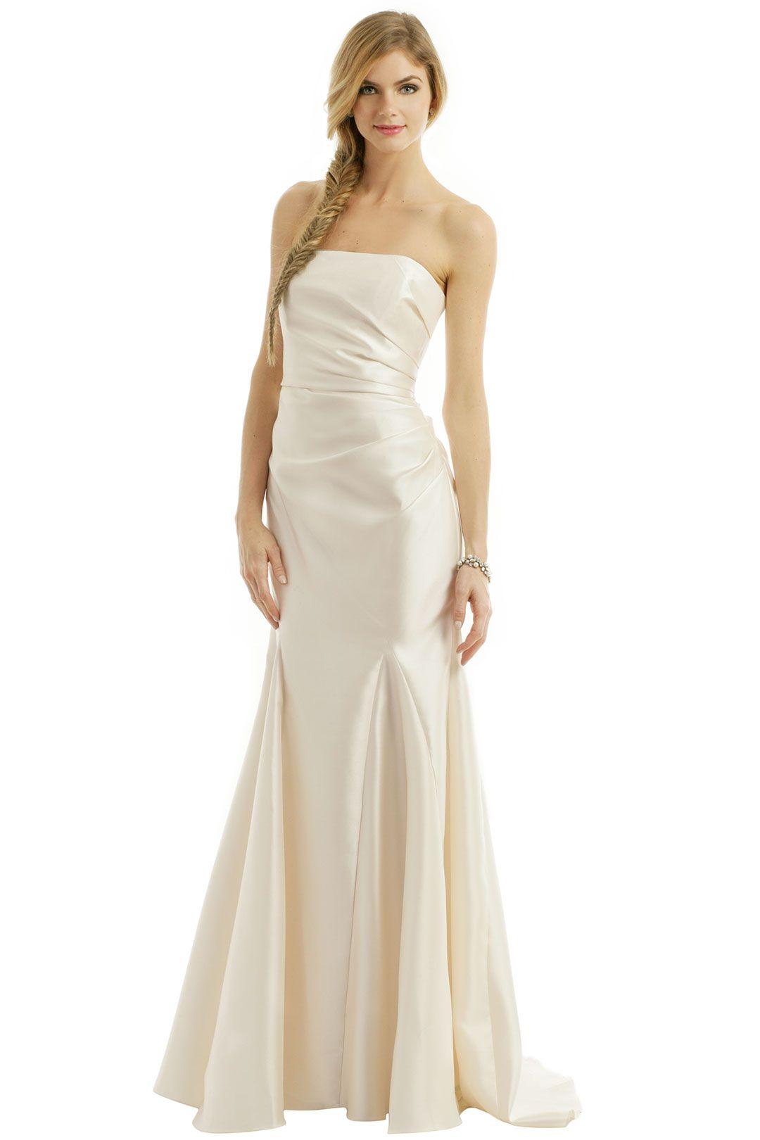Badgley Mischka Ivory Dream Gown Wedding dresses under