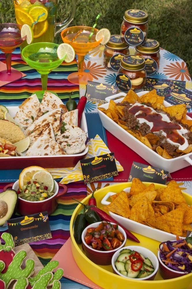 Marvelous Mexican Dinner Party Menu Ideas Part - 8: Awesome Mexican Food Ideas For Dinner Party Part - 6: Fiesta / Mexican  Birthday Party